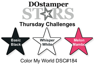 DOstamperSTARS Thursday Challenge #184-Color My World