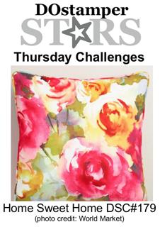 DSC#179, DOstamperSTARS Thursday Home Sweet Home Challenge, #crackedpotstamper, #stampinup